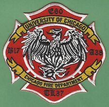 CHICAGO FIRE DEPARTMENT ENGINE 60 TOWER LADDER 37 COMPANY PATCH