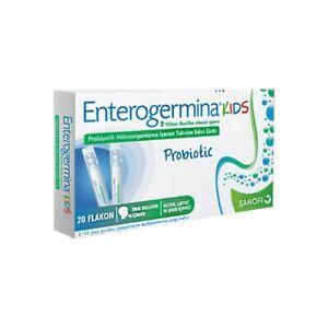 Enterogermina Kids (2 Billion) 20 Vials 5ml. Bacillus Clausii Probiotic Exp.2022
