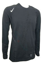 Nike Dri-Fit Pro Warm Men's Medium Black Longsleeve Athletic Shirt 725035
