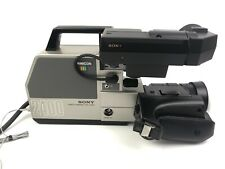Vintage 1982 Sony MF Trinicon Color Video Camera HVC-2400