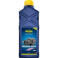 Putoline Medium Gear Oil SAE 80W Motorcycle Motorbike MX Gearbox Oil - 1L