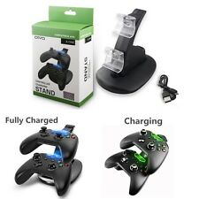 LED Light Dual Controller Charging Dock Station Charger Xbox One /S Controller
