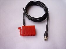 Female Aux Line Adapter Cable Radio For Blaupunkt mit 10 Pole ISO Aux 2 for iPod