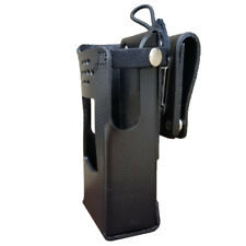 GE7325-3AX Hard Leather Holster for Harris XL-200 Radios