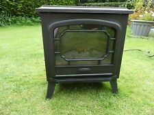 *BELDRAY* Black 1800W FLORIANA ELECTRIC STOVE Log Effect Heater BNIB rrp£90
