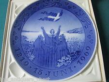 "Royal Copenhagen Commemorative plate 1969 Designed by: Kaj Lange 7,5""[am8]"