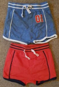 Boys Age 3-6 Months - Next Shorts - Set Of Two Pairs