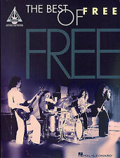 THE BEST OF FREE Paul Kossoff Guitar TAB Music Book ALL RIGHT NOW WISHING WELL