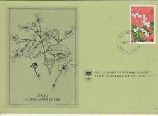 First Day Cover: TUVALU 1978 Royal Horticultural Society Flower Stamp! (B)