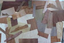 2 lbs Marquetry / Inlays Wood Veneer - 14+kinds! 100pcs