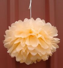 18x peach green paper pom poms engagement wedding party baby shower decoration