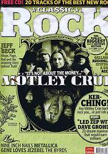 MOTLEY CRUE / JEFF BECK / RORY GALLAGHER / AUDIOSLAVEClassic Rock 81July2005