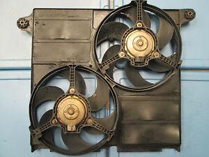 1998-1999-2000-2001-2002-2003 JAGUAR XJ8 XJ8L VANDEN PLAS COOLING FANS