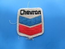 Vintage Chevron Logo Patch Chevron Corporation Energy Red White & Blue S254