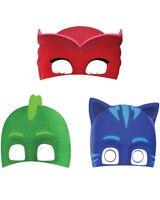 Pj Masks Paper Masks Pack Of 8 One Size