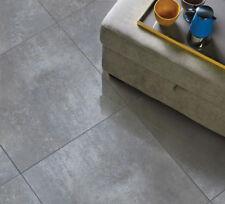 £14.99/m2+vat Concrete Grey Polish Pattern Porcelain Tiles 60X60 Wall Floor