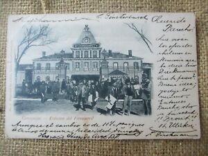 CHILE CONCEPCION ESTACION DE FERROCARRIL Ed Carlos Brandt 1899