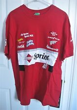 SPRINT #45 RED TWO-SIDED T-SHIRT NASCAR WINSTON CUP SERIES SIZE LARGE NWT