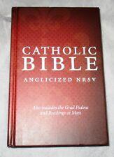 CATHOLIC BIBLE ANGLICIZED NRSV GRAIL PSALMS  ( HB COLLINS 2011)