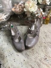 Remonte Dorndorf By Reiner 39 Leather Shoes Gray Sling Back Boots Booties