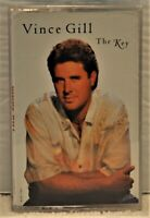 """VINCE GILL  """"The Key""""  Cassette  MCA  MCAC-70017"""