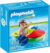 Playmobil Summer Fun Children's Paddle Boat 6675 (for Kids 4 to 10)