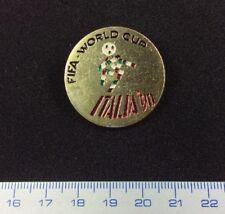 Pin Badge Button Football FIFA ITALIA 90 World  Cup. Metal. Very Rare !!