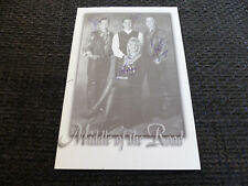 MIDDLE OF THE ROAD signed 4x6 inch autographed Autographcard  LOOK