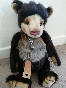 """OOAK Artist Teddy Bear """"Isaiah"""" by Coco and Clare"""