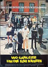 The Gang That Couldn't Shoot Straight German movie poster Jerry Orbach, De Niro