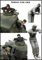 1/35 German Tank Crewman 2 Soldiers WW2 unpainted unassembled BL303