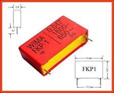 2x 1nf 1000pf 0.001 uF µF 1600v Film Capacitors//DIAPOSITIVE-condensatori rm-15mm