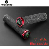 ROCKBROS Bike Handlebar Rubber Grips Double Lock-on For Mountain MTB BMX 22.2mm