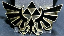 Belt Buckle Black Gold #D-7 2008 Nintendo Legend of Zelda Metal