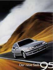 Prospekt Saab 95 1997 brochure Autoprospekt Auto PKW broschyr brosjyre 562264