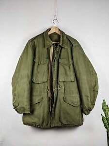 Vintage US Army Field Jacket M 51 Military Korean War 1950s