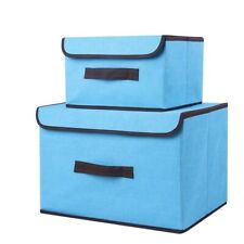 Storage Box Cotton Liene Laundry Basket Toy Snacks Sundries Oraganier Household