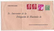 España Franco Entero Postal con franqueo complementario año 1958 (DG-107)