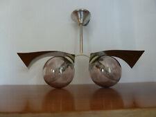 LAMPE  CHROME DESIGN  VINTAGE ANNEES 1970