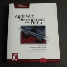 Agile Web Development with Rails : A Pragmatic Guide by Dave Thomas (2005)