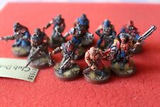 Games Workshop Warhammer 40k Chaos Cultists Squad 10 Figures Painted WH40K GW