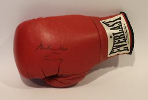Muhammad Ali signed autographed training used worn glove! Guaranteed Authentic!