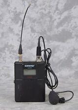 Shure ULXD1 H50 Wireless Microphone Bodypack Transmitter & Lavalier Mic
