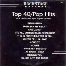 Top 40 Pop Hits Karaoke Backstage Vol. 3917 CD+G New and Sealed