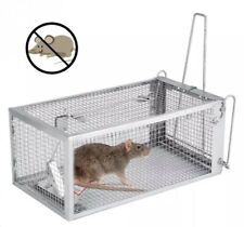 Mouse Cage Trap Reusable Pest Control Catcher Rodent Trap Humane Li