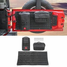 Car Tailgate Storage Bag Tool Kit & Cargo Organizer Saddlebag For Jeep Wrangler