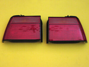 Alfa Romeo Berlina 1750, 2000, clear front turn signal lenses, R&L. New.