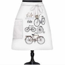 New listing Life Is A Beautiful Ride Bistro Apron by Mary Lake Thompson Montgomery Street