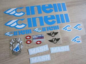 Egovinyls Cinelli Mash vinilos decal sticker vinyl adesivi autocollant ステッ