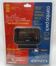 Jensen JXR9 XM Satellite Radio Receiver Mobile Vehicle Kit System Combo Pack